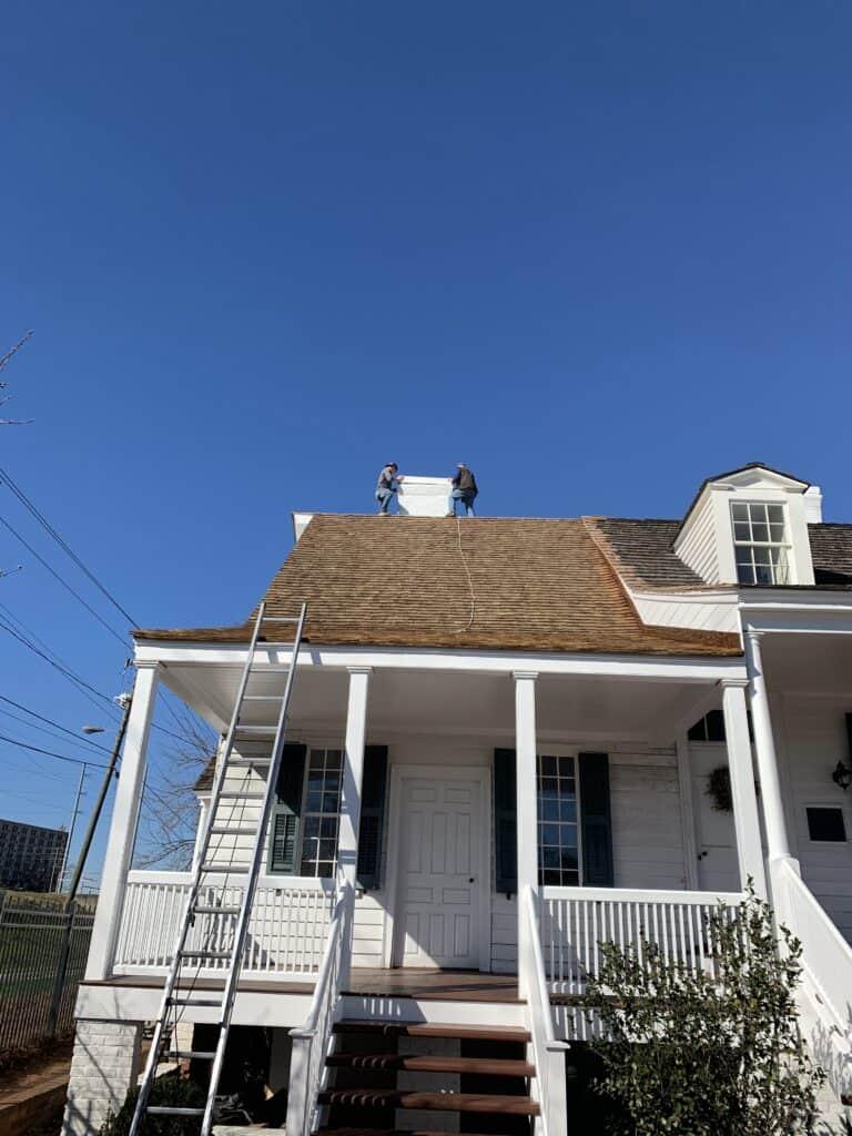 Meadow Garden Historic Roof Front