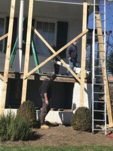 Meadow Garden Historic Porch Restoration Supports