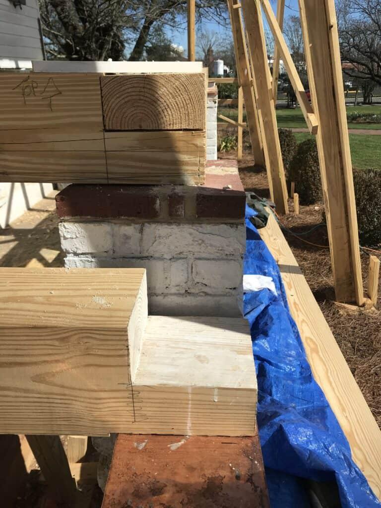 Meadow Garden Historic Porch Restoration Joinery