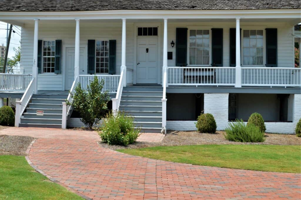 Meadow Garden Porch Restoration Before