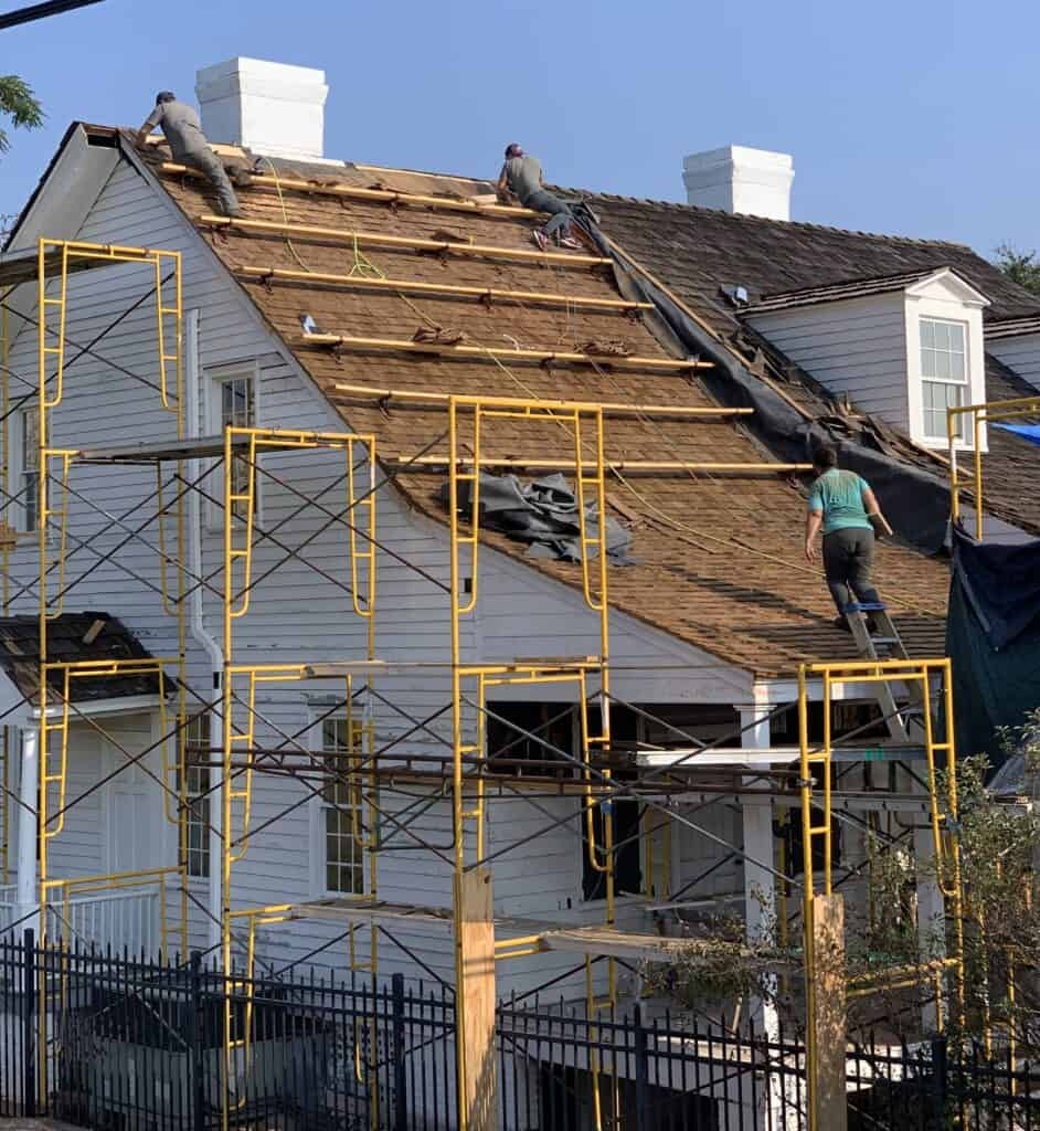 Meadow Garden Historic Roof Restoration