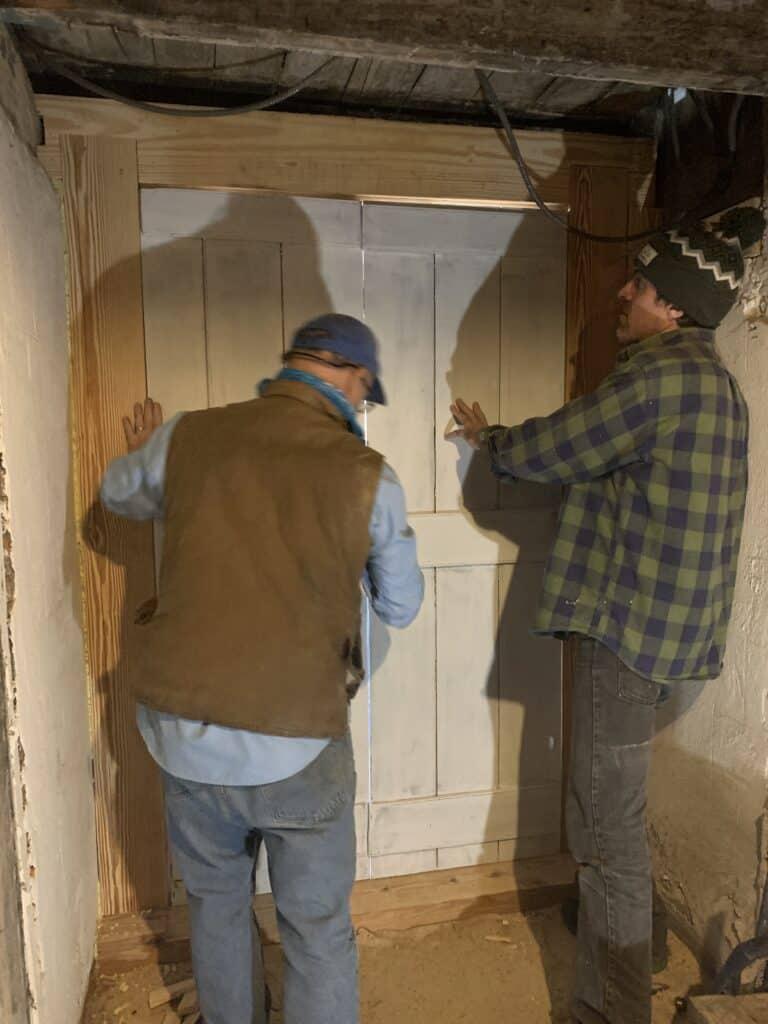 Placing Historic Cellar Doors