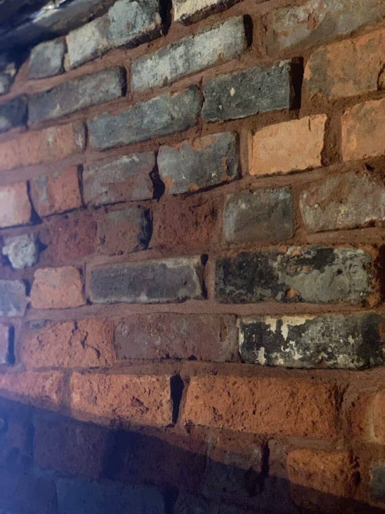 Repointed Cellar Walls - After