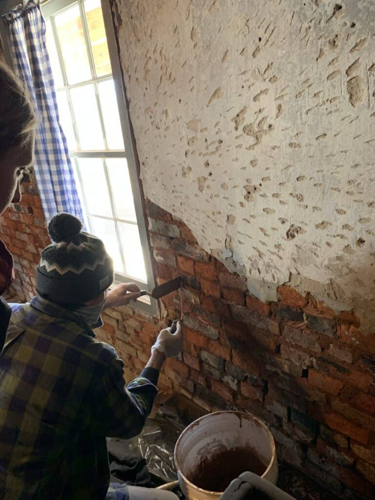 Cellar Wall Repointing